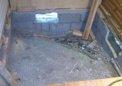 Gamelt gulv på soverom skal erstats ed ny gulv til bad
