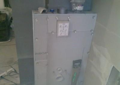 Litex plater montering på toallet sisterne