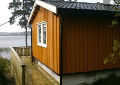 Ny malt hytte