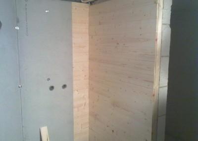 Ru panel montering på badevegger