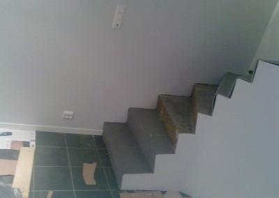 Trappe til kjeller fra første etasje