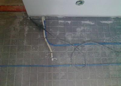 Varme kabel i kjeller