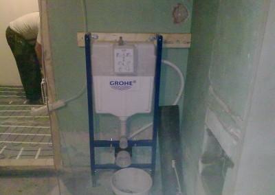 innebygget toallet sisterna