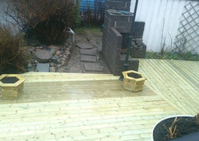 Platting i hagen