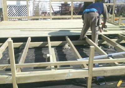 terrasse konstruksjon
